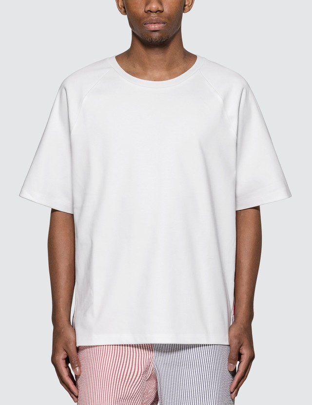 Thom Browne Interlock RWB Stripe T-Shirt