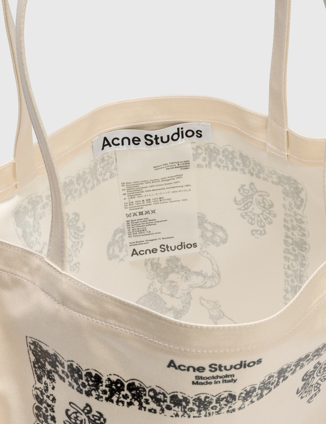 Acne Studios Audrey Tote Bag White Men