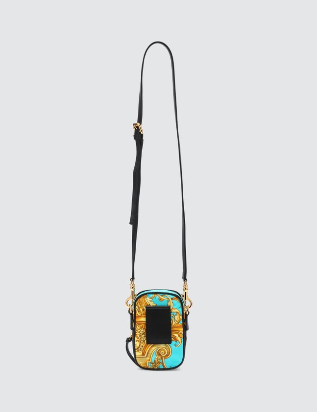 Versace Baroque Print Crossbody Bag
