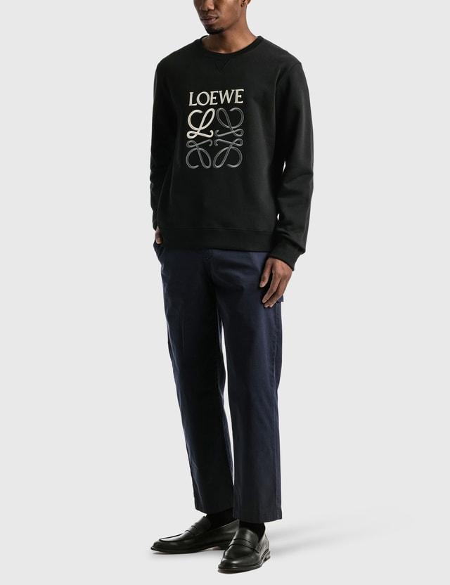 Loewe Anagram Sweatshirt Black Men