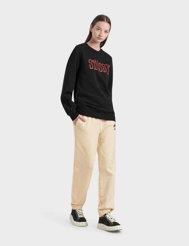 Stussy Block Type Sweatshirt