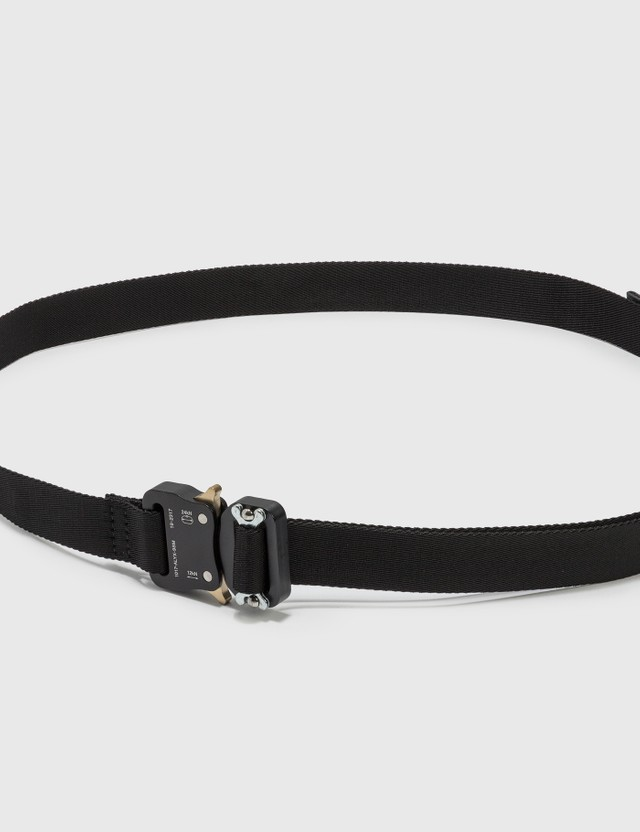 1017 ALYX 9SM Medium Rollercoaster Belt Black Men