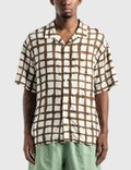 Stussy Hand Drawn Grid Shirt 사진