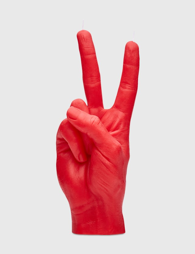 Candle Hand VICTORY Candle Red Unisex