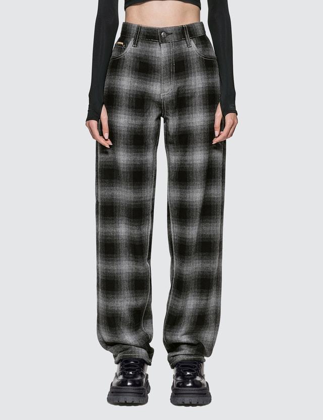 Eytys Benz Tartan Ash Jeans