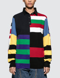 JW Anderson Knitted Stripe Rugby Picture
