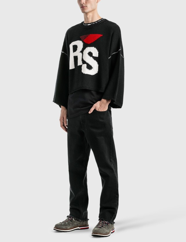 Raf Simons Oversized RS Sweater