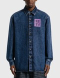 Raf Simons Straight Fit Denim Shirt Picture