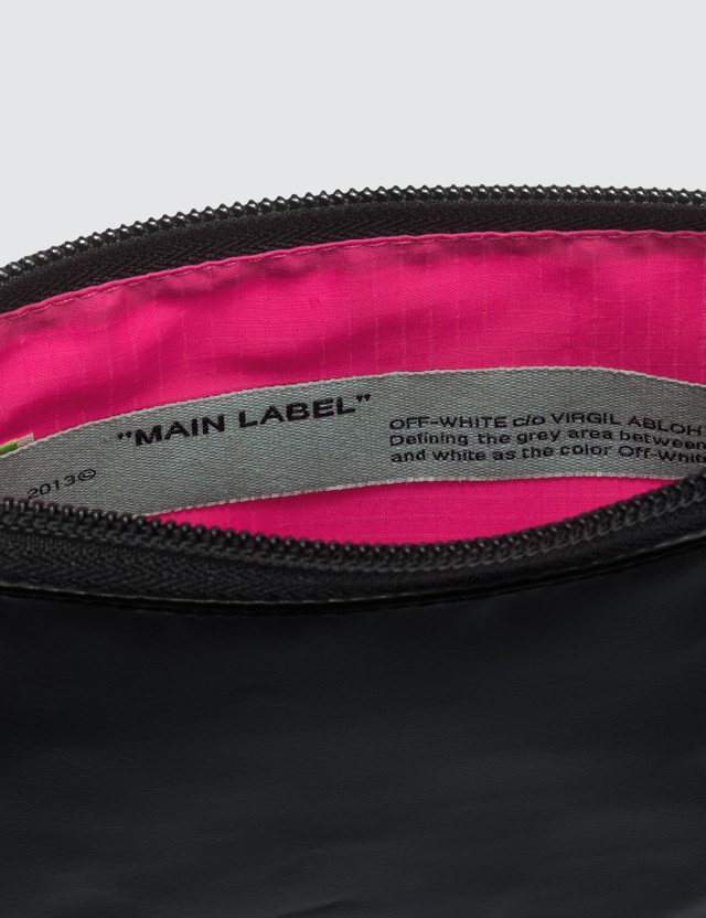 Off-White Flat Cross Body Bag