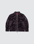 Haus of JR Viola Velour Bomber Jacket Picture