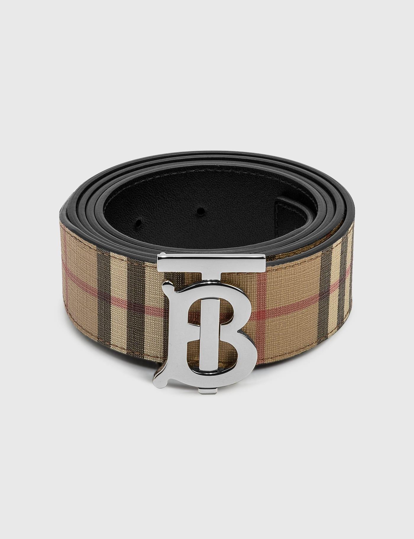 버버리 Burberry Monogram Motif Vintage Check Belt