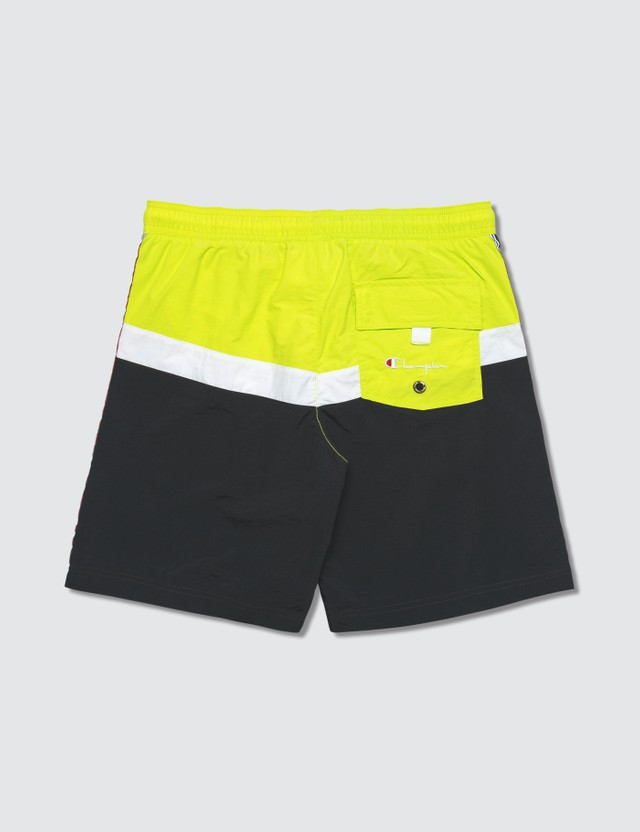 Champion Reverse Weave Side Tape Beach Shorts