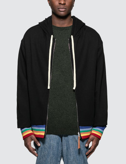 Loewe Rainbow Rib Zip Hoodie