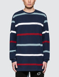 Diamond Supply Co. Paradise Striped L/S T-Shirt Picture
