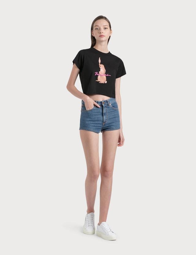 Fiorucci Bunny Crop T-Shirt