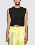 Hanes x Karla The Sleeveless Crop T-shirt Picutre