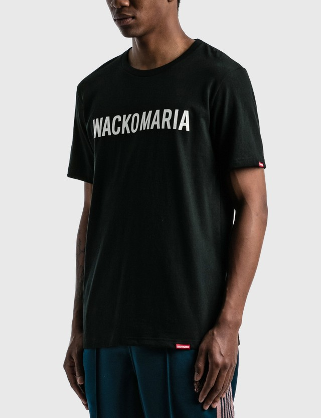 Wacko Maria Heavy Weight Crew Neck SS T-shirt ( Type-2 ) Black Men