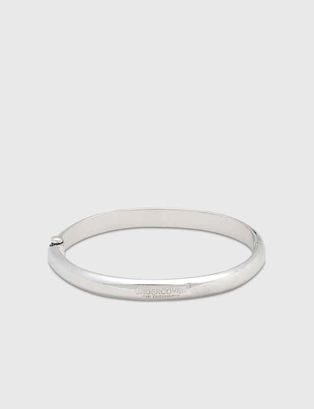 Undercover Logo Bracelet Silver Men