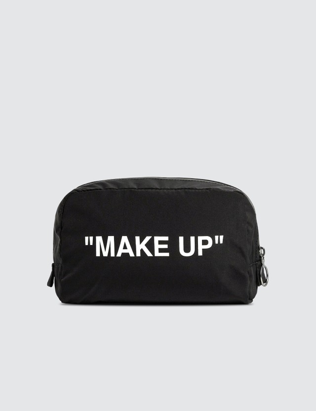 "Off-White ""MAKE UP"" Pouch"