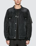 Sacai MA-1 Denim Jacket 사진