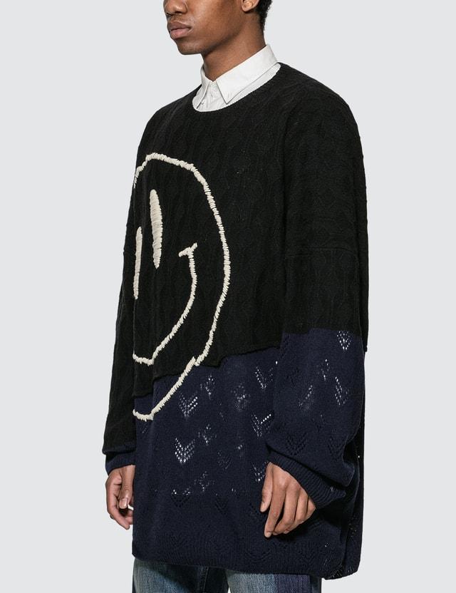 Raf Simons Oversized Smiley Sweater