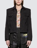 MM6 Maison Margiela Denim Jacket With Removable Sleeve Picture