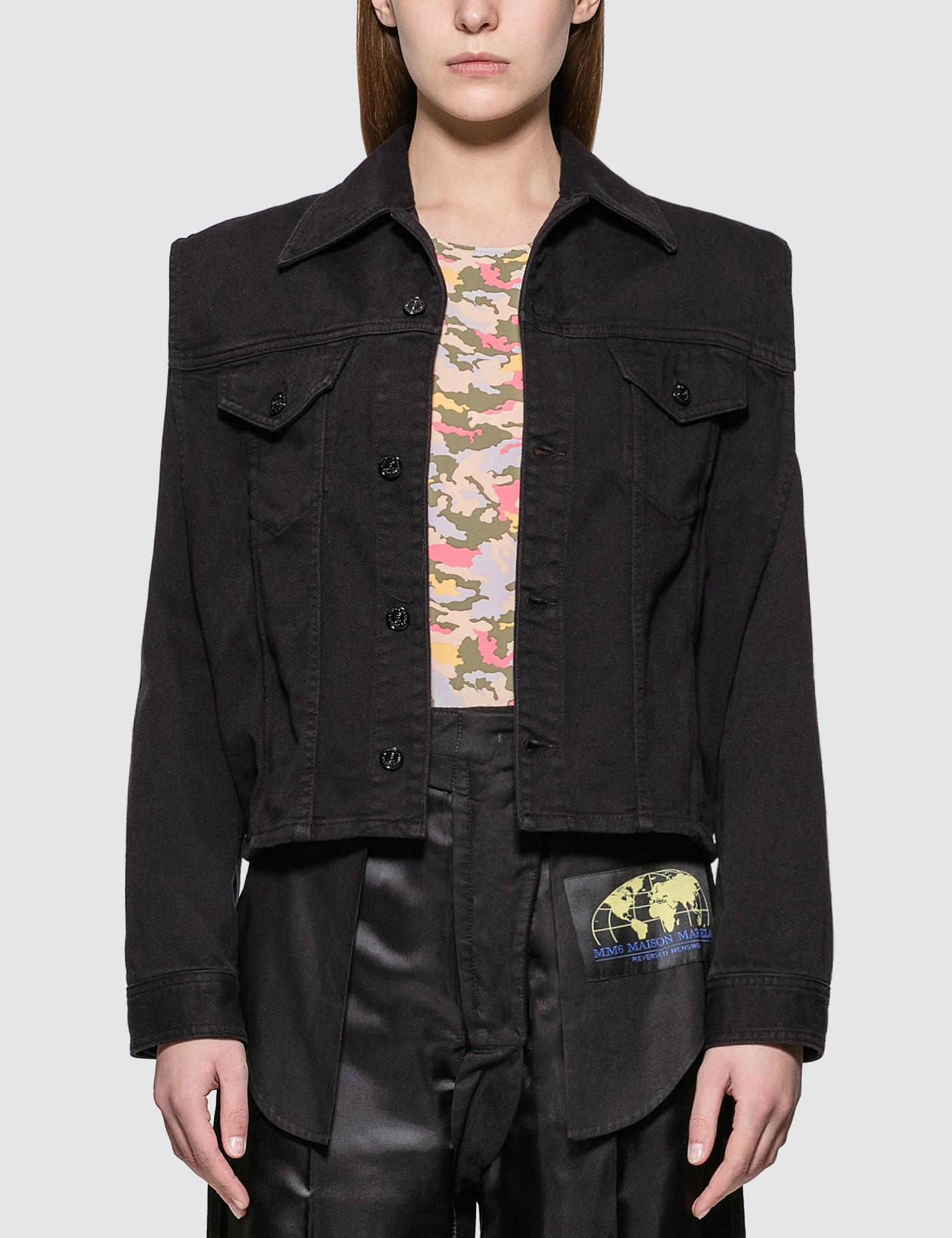 Denim Jacket With Removable Sleeve
