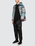 Prada Stripe Nylon Jacket