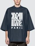 Maison Kitsune Wavy MK Oversized T-Shirt Picutre