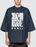 Maison Kitsune Wavy MK Oversized T-Shirt Picture