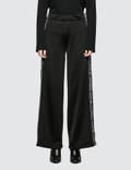 Alexander Wang Sleek French Terry Pull-On Pant with Logo Tape Picture
