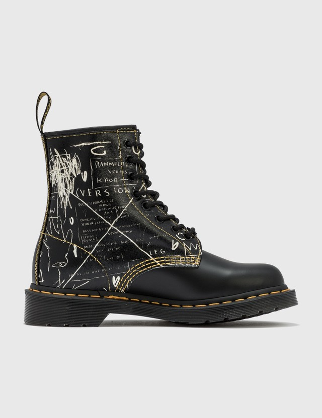 Dr. Martens Dr. Martens x Jean-Michel Basquiat 1461 Leather Lace Up Boots