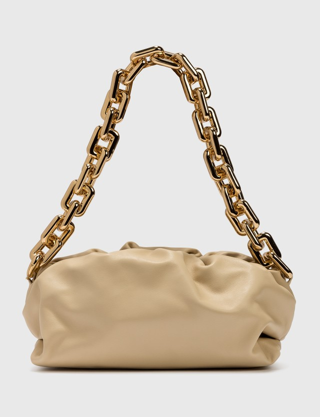 Bottega Veneta The Chain Pouch Porridge-gold Women