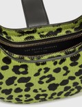 Les Petits Joueurs Cindy Cheetah Logo Mini Bag Lime Cheetah Women