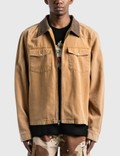 Stussy Washed Canvas Work Shirt Picture