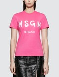 MSGM MSGM Blush Logo T-shirt Picture