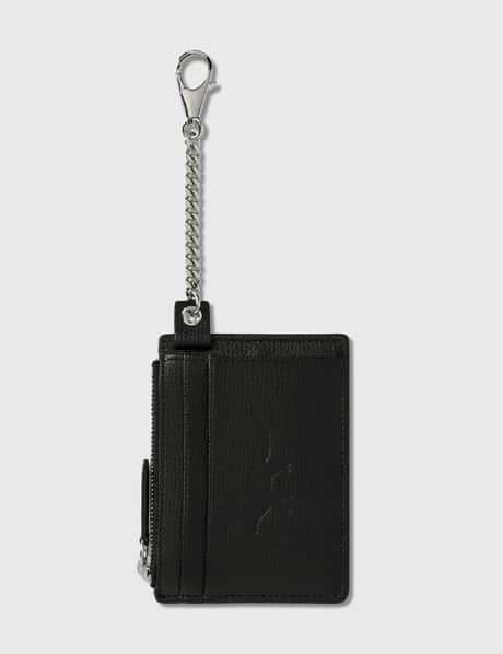 메종 키츠네 Maison Kitsune Leather Card Holder