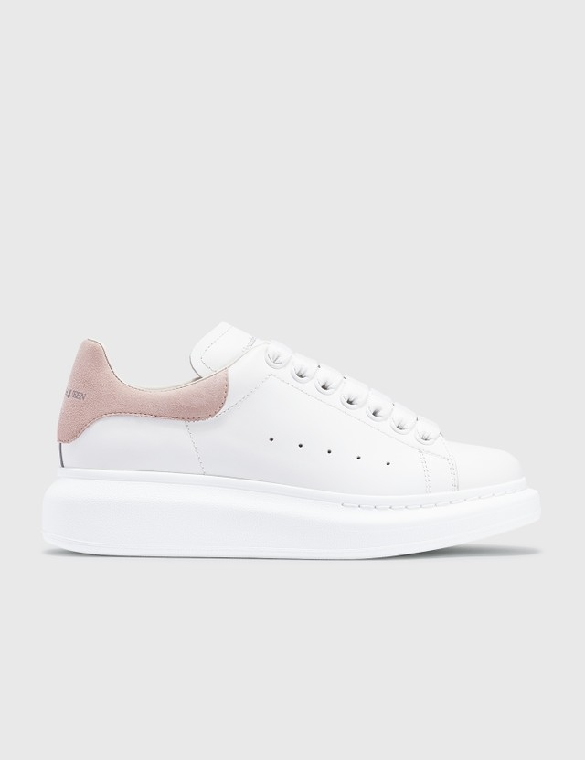 Alexander McQueen Oversized Sneakers White/patchouli  Women
