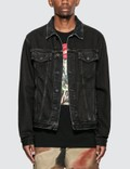 Off-White Stencil Slim Denim Jacket Picutre