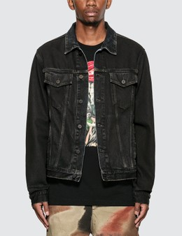 Off-White Stencil Slim Denim Jacket