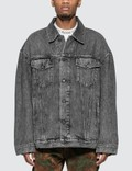 Acne Studios Oversized Denim Jacket Picture