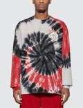 Just Don Dealers Spiral Dye Long Sleeve T-shirt 사진