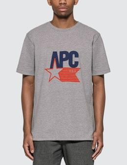 A.P.C. Cornelius USA Logo T-Shirt
