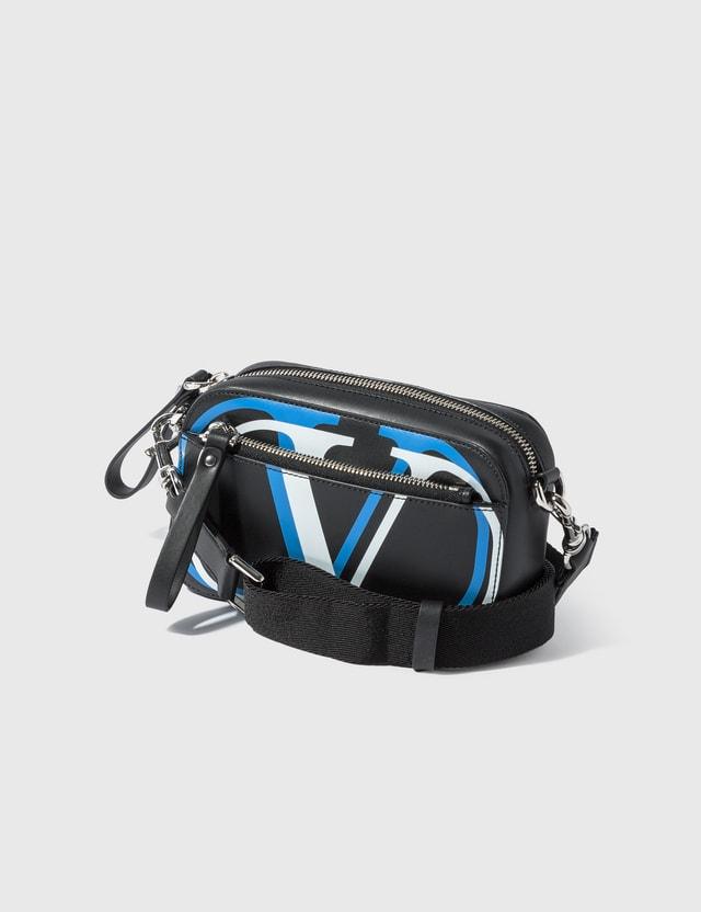 Valentino Valentino Garavani Double V Logo Mini Waist Satchel