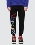 Versace Font Sweatpants Picture