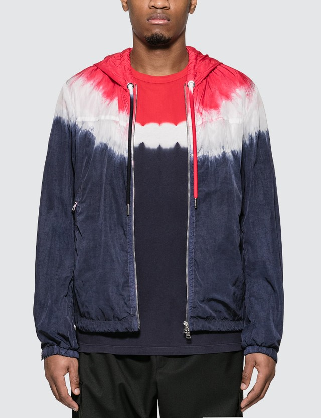 Moncler Tie Dye Jacket Red Men