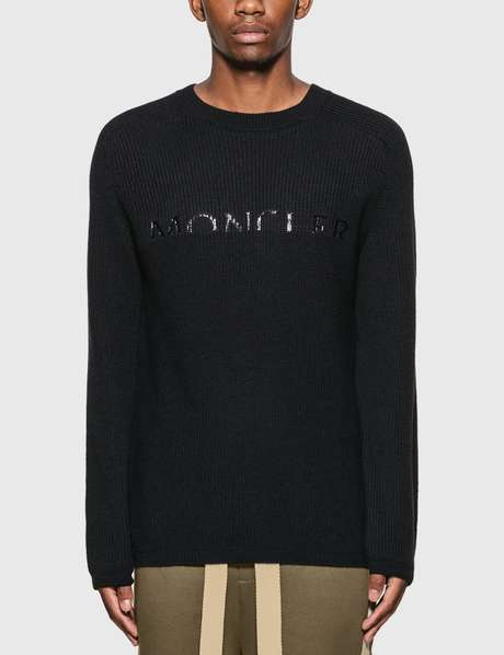 몽클레어 Moncler Crewneck Knitted Sweater