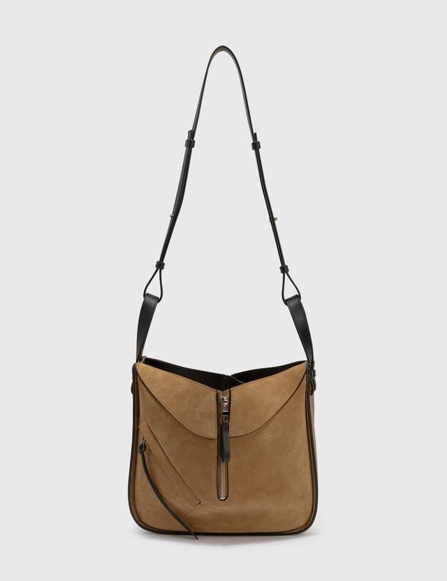 Loewe Small Hammock Bag Oak/dark Gold Women