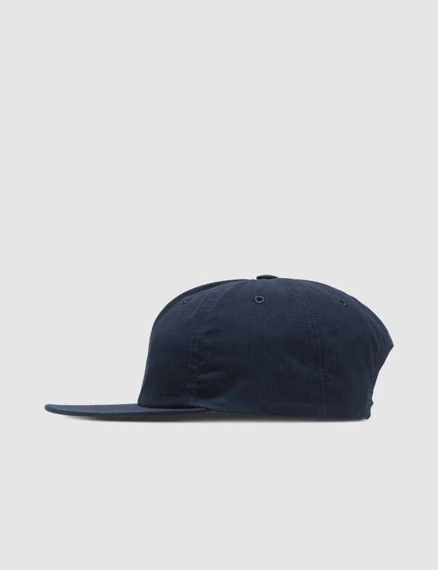 Maison Kitsune Small Check Baseball Cap