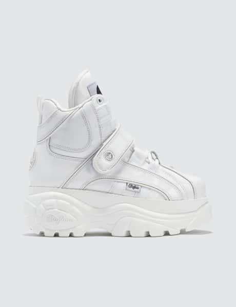 ad676c2e5 Buffalo London · Buffalo Classic White High-top Platform Sneakers ...